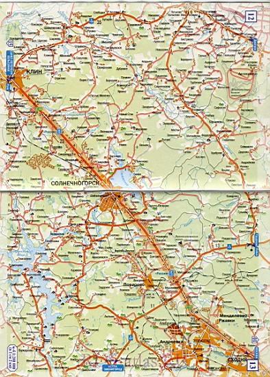 Москва Тверь подробная карта дороги. Часть трассы М10 от ...: http://rus-atlas.ru/1330559.html