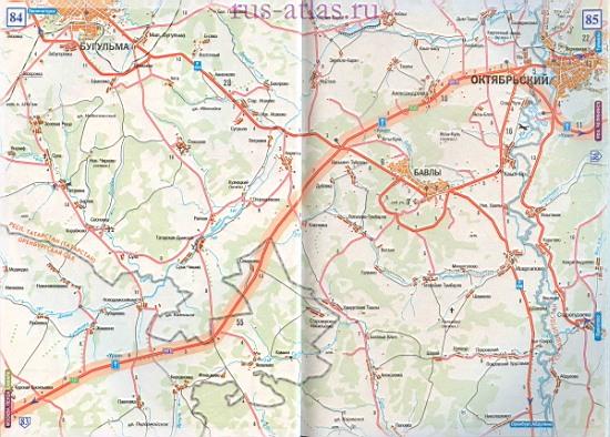 Самара октябрьский карта