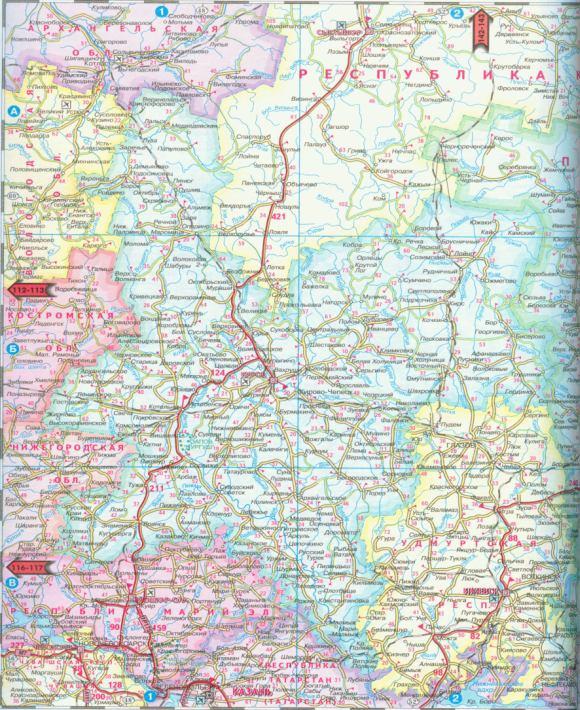Карта ижевска со спутника 2015