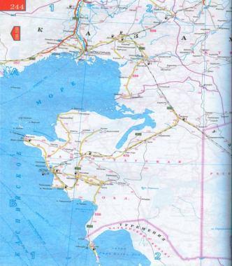 Карта актау со спутника спутниковая