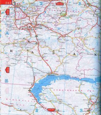 Карта восточного казахстана усть
