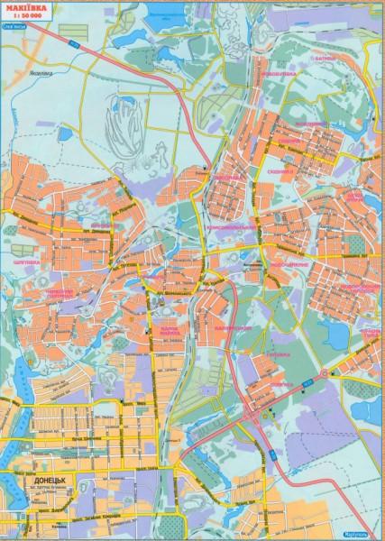 карта схема улиц г.