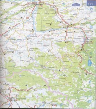 Карта дорог Алтайского края