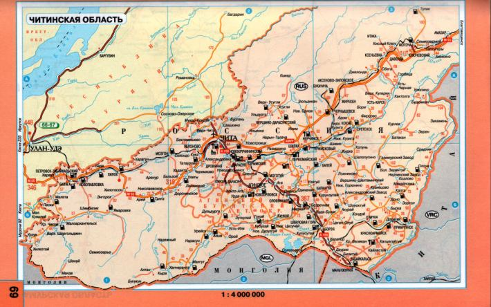 Карта схема авто дорог