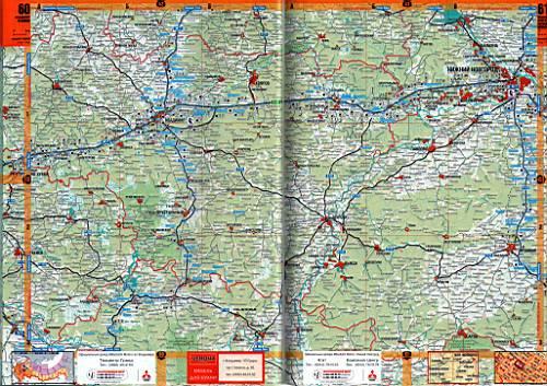 Карта нижегородской обл атлас