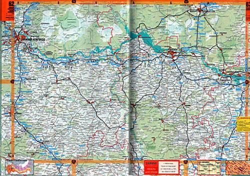 Карта Татарстана.