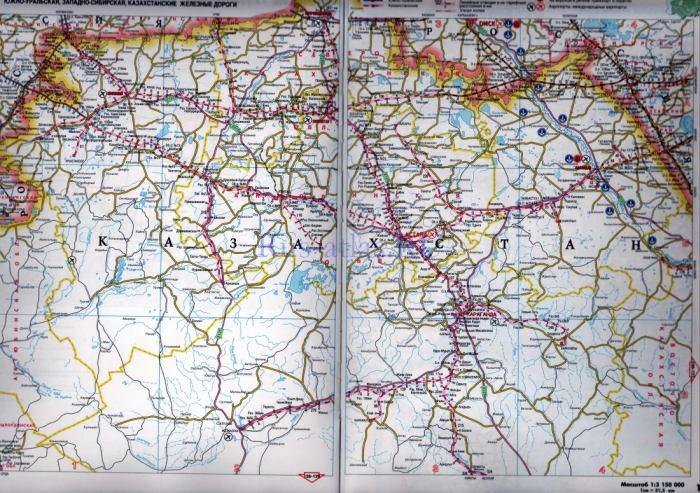 Схемы железнодорожного сообщения Росси, карты железных дорог - Utexp