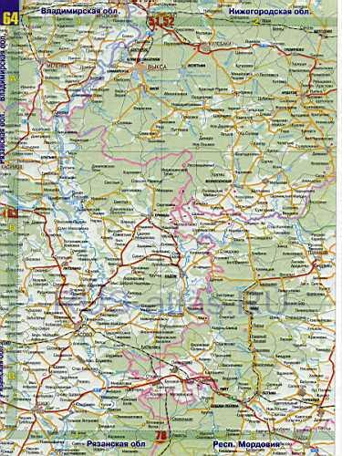 Карта дорог - Рязанская