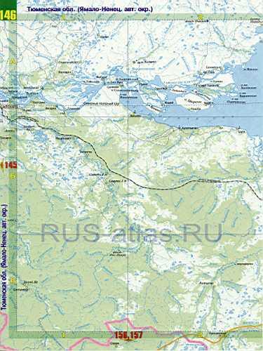 Карта ЯНАО. Атлас России - карта ЯНАО Ямало-Ненецкого авт ...: http://rus-atlas.ru/442840.html